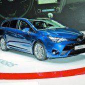 Toyota verjüngt seine Kernbaureihen