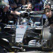 Vettel ließ sich nicht abhängen