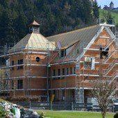 Muntlix: Umbau des Rathauses liegt im Plan