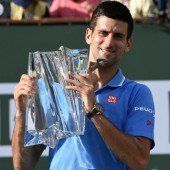 Djokovic holt in Indian Wells den 50. ATP-Titel
