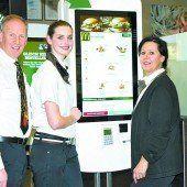McDonalds präsentiert neues Bestellsystem