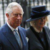 Prinz Charles reist mit Camilla in die USA