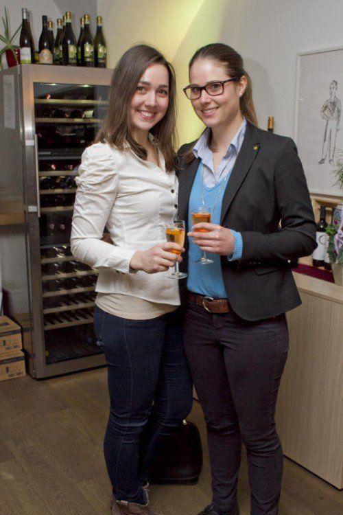Rebecca Reiner (l.) und Elisabeth Royer