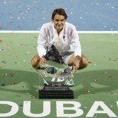 Federer holte gegen Djokovic 84. ATP-Titel