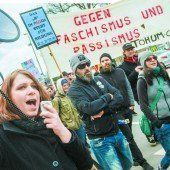 Demos in Bregenz verliefen ohne große Ausschreitungen