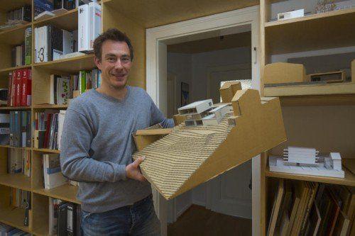 Seit 2001 ist Matthias Hein mit seinem Architekturbüro erfolgreich in Vorarlberg tätig. Fotos: VN/Paulitsch
