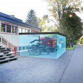 Höchster Wehr erhält eine Garage aus Glas