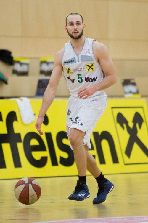 Tobias Stadelmann verzeichnete ein Double-Double. Foto: steurer