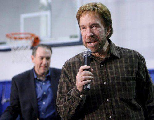 Über Chuck Norris kursieren zahlreiche Witze. Foto: EPA