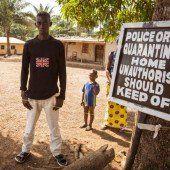 Ausgangssperre wegen Ebola angekündigt