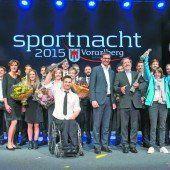 Nadine Wallner, Matthias Brändle und Altachs Fußballer machten das Rennen