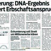 Beschluss des Bezirksgerichts: Holländer nicht Millionenerbe