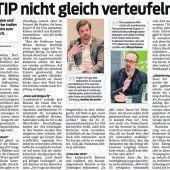Besorgte Bürger wegen TTIP