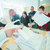 Drei VP-Bürgermeister in Stichwahl gezwungen