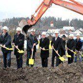 Spatenstich für ein Großprojekt in Thüringen