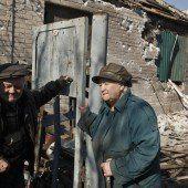 Abzug schwerer Waffen in der Ukraine fast abgeschlossen