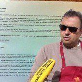 Wirtesprecher entschuldigt sich für skandalösen Angriff gegen Ritsch