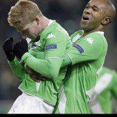 Kevin de Bruyne lässt Wolfsburg vom Viertelfinale träumen