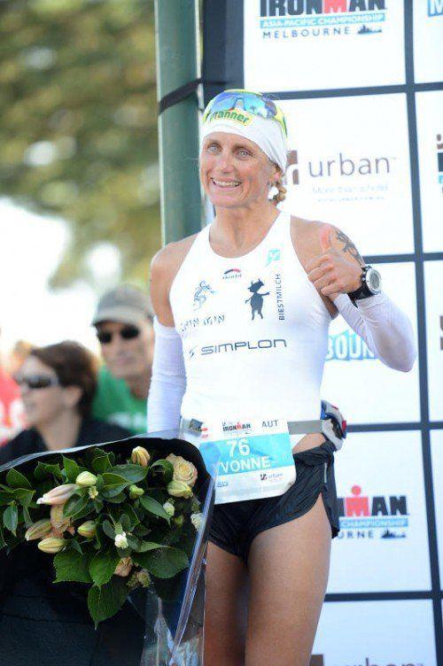 Yvonne van Vlerken feierte ihren ersten Saisonsieg. Foto: privat