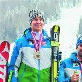 Clemens Dorner holte sich den Titel im Super-G