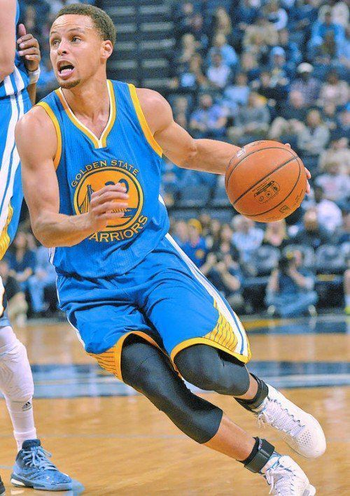 27 Punkte für Golden State: Stephen Curry. Foto: ap