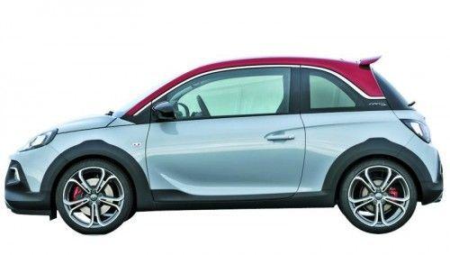 8,5 Sekunden für den Sprint auf Tempo 100 und 210 km/h Spitze: Weltpremiere für den neuen Opel Adam Rocks S. Foto: Werk
