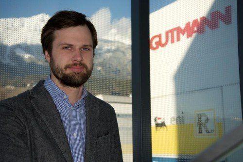 Alexander Gutmann will im Land 2000 Gaskunden gewinnen. Foto: Gutmann