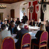 Neue Vizebürgermeisterin und Stadträte in Feldkirch