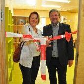 Eröffnung der schuleigenen Bücherei im ZIS
