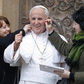 Papst bekommt den letzten Schliff