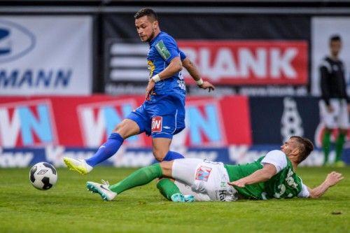 Austria-Innenverteidger Christoph Kobleder trifft am Freitag auf seinen Ex-Klub LASK Linz. Foto: gepa