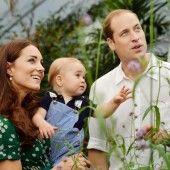 Gespanntes Warten auf das Royal Baby