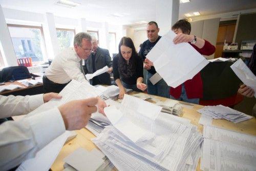 Bei der Auszählung war alles korrekt, wie auch hier bei den Gemeindewahlen in Hohenems. Foto: VN/Steurer