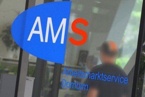 Der Andrang in den Vorarlberger AMS-Stellen nimmt leider wieder stark zu. VN
