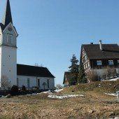 Wohnanlage in Hohenweiler vor dem Baustart