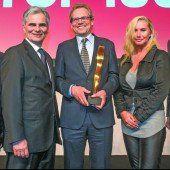 Industrieller Johannes Collini erhält den VN-Wirtschaftspreis 2015