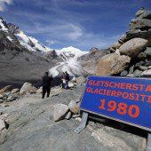 Gletscher in Österreich werden immer kleiner