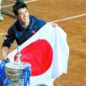 Nishikori hat in Barcelona den Sieg wiederholt