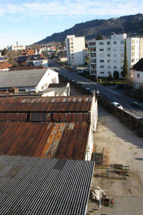 Das Industrie-Areal in Lochau wird neu gestaltet.