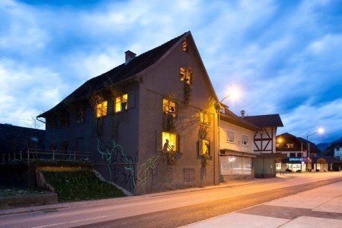 """Das Rankweiler """"Gewächshaus"""" wurde neu inszeniert.  Foto: Mathis"""
