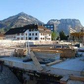 Die Neugestaltung der Sägerbrücke geht voran