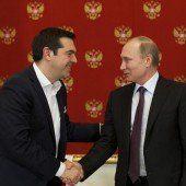 Tsipras sucht in Moskau nach Rubeln für Athen