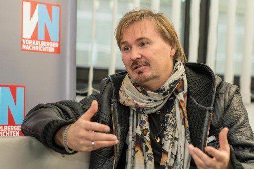 """""""Der Schlager hat sich über die Jahre sehr verändert, er entspricht mehr dem Zeitgeist"""": Nik P. im VN-Interview.  Foto: VN/Stiplovsek"""