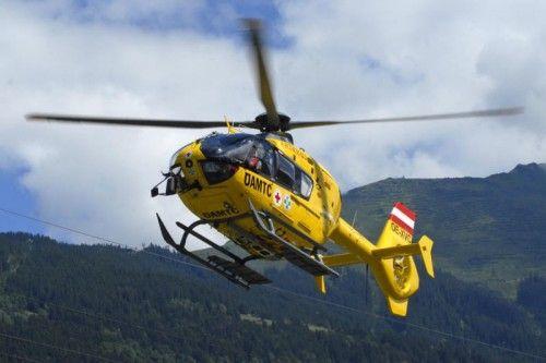 Der Abtransport des Verletzten erfolgte mit dem Rettungshubschrauber. vn
