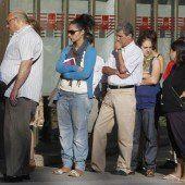 Arbeitslosenzahl in Spanien gesunken