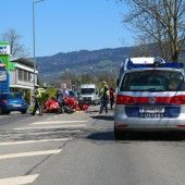 Motorradfahrer stirbt noch an der Unfallstelle