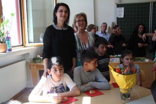 Durdane Yildiz (l.) und Karin Dorner freuen sich auf eine gute Zusammenarbeit im Sinne der Schüler.  Foto: VOL.AT Rauch