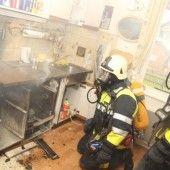 Viel Arbeit für die Feuerwehr