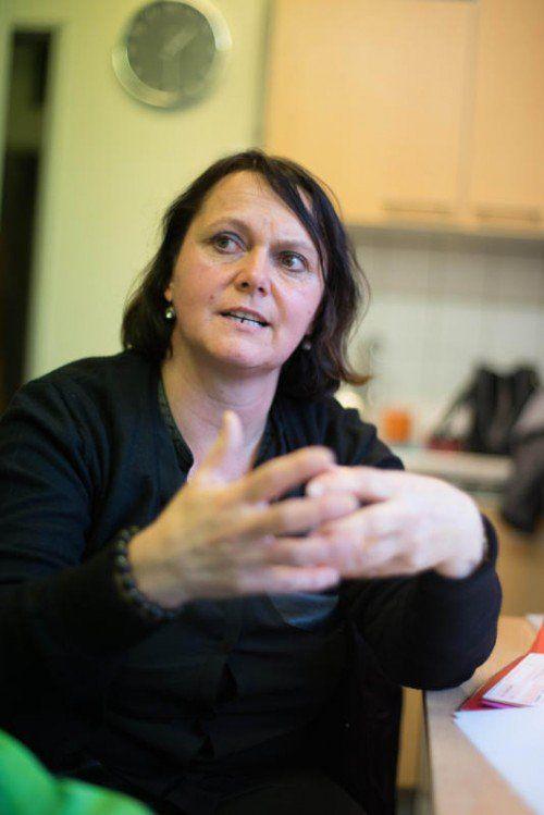 Eine starke Frau, die sich bedingungslos für ihren autistischen Sohn einsetzt: Petra Girardi. Foto: VN/Hartinger