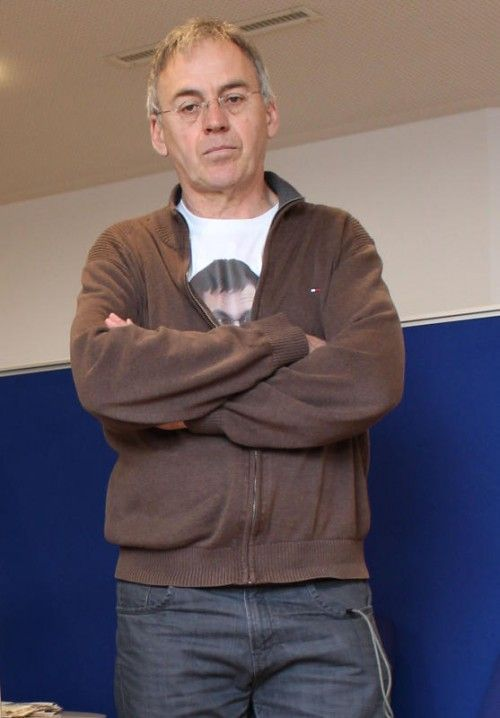 Elmar Battlogg (55) im Landesverwaltungsgericht.  Foto: pes